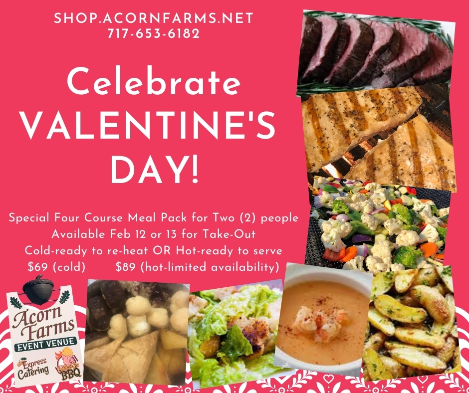Valentine's Day Meal Pack Ad